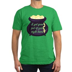 I've Got Your Pot of Gold Men's Fitted T-Shirt (da