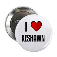 """I LOVE KESHAWN 2.25"""" Button (100 pack)"""
