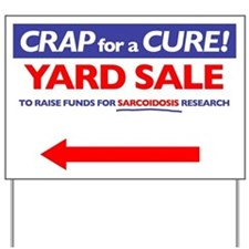 Left Arrow Yard Sign