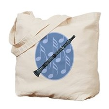 Music Clarinet Tote Bag