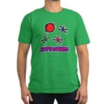 Let's Bounce Jacks (Jax) Men's Fitted T-Shirt (dar