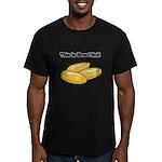 How I Roll (Italian Rolls) Men's Fitted T-Shirt (d