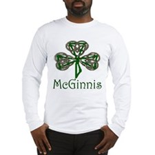 McGinnis Shamrock Long Sleeve T-Shirt