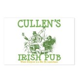 Cullen's Irish Pub Personalized Postcards (Package