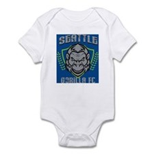 Seattle Gorilla FC Infant Bodysuit