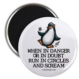 Screaming Penguin Magnet