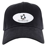 Screaming Penguin Baseball Hat