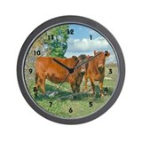 Cows on Wall Clock
