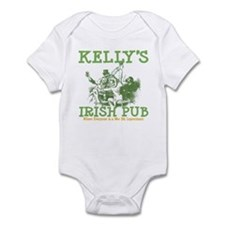 Kelly's Irish Pub Personalized Infant Bodysuit