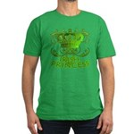 Crown and Scroll Irish Princess Men's Fitted T-Shi