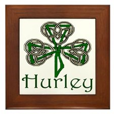Hurley Shamrock Framed Tile