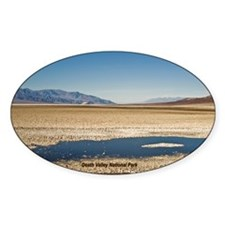 Death Valley Oval Sticker (50 pk)