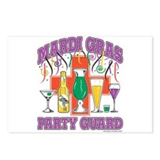 Mardi Gras Party Guard Postcards (Package of 8)