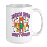 Mardi Gras Party Guard Mug