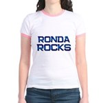 ronda rocks Jr. Ringer T-Shirt