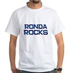 ronda rocks White T-Shirt