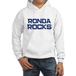 ronda rocks Hooded Sweatshirt