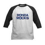 ronda rocks Kids Baseball Jersey