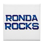 ronda rocks Tile Coaster