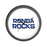 ronda rocks Wall Clock