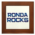 ronda rocks Framed Tile