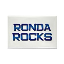 ronda rocks Rectangle Magnet