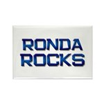 ronda rocks Rectangle Magnet (10 pack)