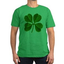 Unique Four leaf clover T