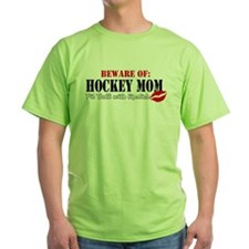 Hockey Mom - Pit Bull T-Shirt