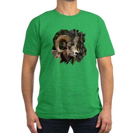 Bighorn Sheep - Ram Men's Fitted T-Shirt (dark)