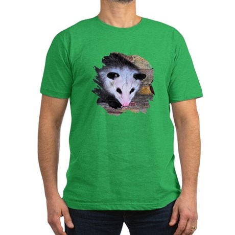 Virginia Opossum Men's Fitted T-Shirt (dark)