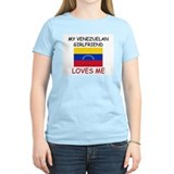 My Venezuelan Girlfriend Loves Me T-Shirt