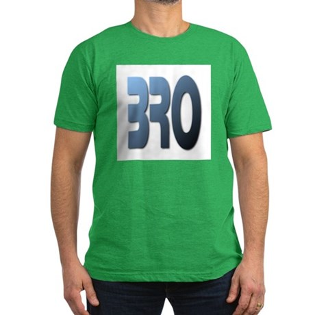 BRO Men's Fitted T-Shirt (dark)
