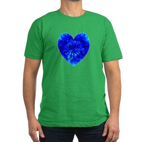 Heart of Seeds Men's Fitted T-Shirt (dark)