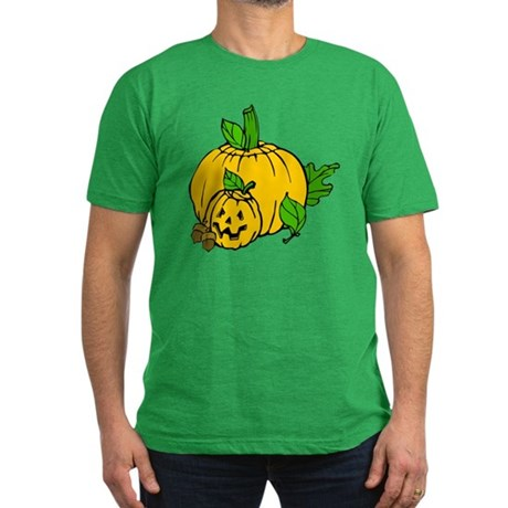 Jack 0 Lantern Men's Fitted T-Shirt (dark)