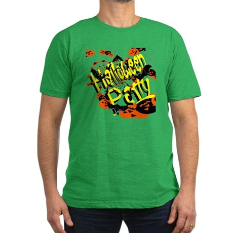 Halloween Party II Men's Fitted T-Shirt (dark)