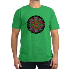 Kaleidoscope 005f Men's Fitted T-Shirt (dark)