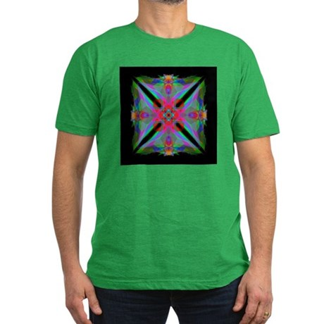 Kaleidoscope 000a2 Men's Fitted T-Shirt (dark)