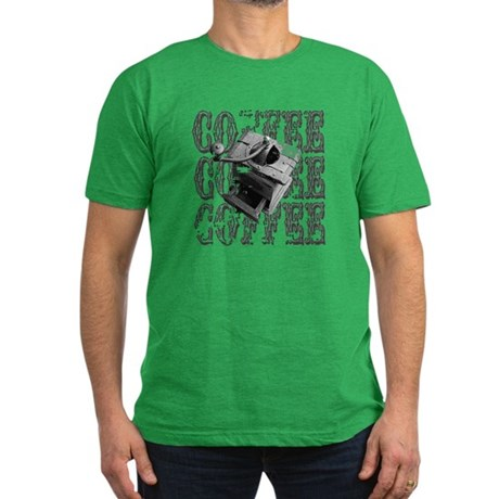 Coffee Grinder Men's Fitted T-Shirt (dark)