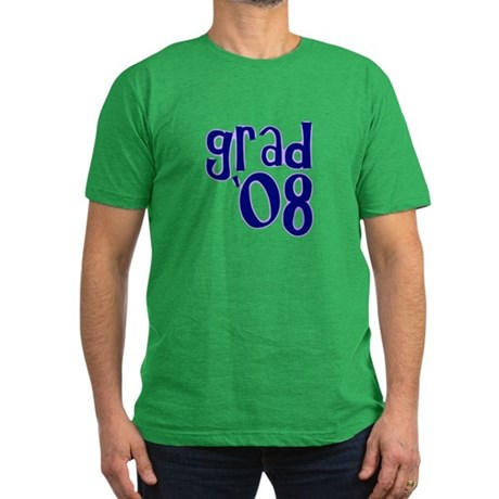 Grad 08 - Purple - Men's Fitted T-Shirt (dark)