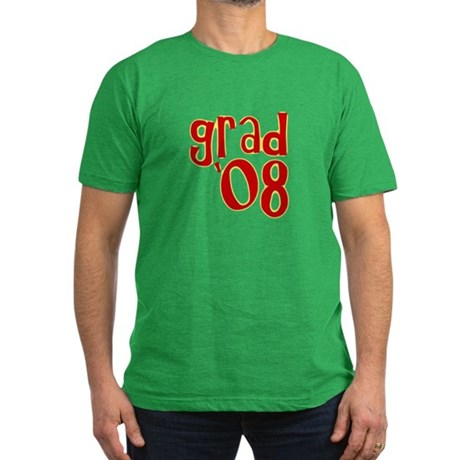 Grad 2008 - Red - Men's Fitted T-Shirt (dark)