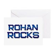 rohan rocks Greeting Card