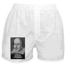 William Shakespeare Boxer Shorts