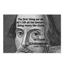 William Shakespeare Postcards (Package of 8)