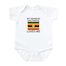 My Ugandan Girlfriend Loves Me Infant Bodysuit