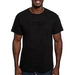 Summer... snowmobile Men's Fitted T-Shirt (dark)