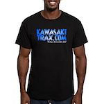 KawasakiTrax.com Logo Men's Fitted T-Shirt (dark)