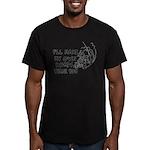 Make My Own Roads Men's Fitted T-Shirt (dark)