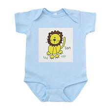 Cute Lion Infant Bodysuit