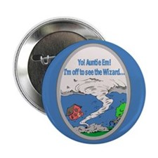 "Wizard of Oz 2.25"" Button"